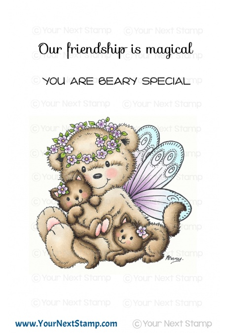 Your Next Stamp - Fairy Bear
