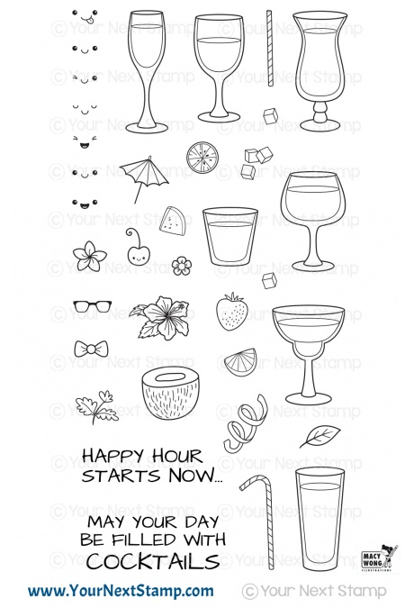 # Your Next Stamp - Happy Hour