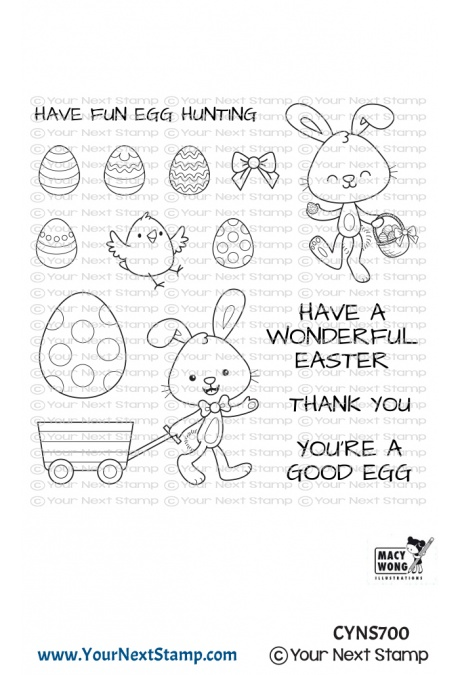 Your Next Stamp - Egg Hunt