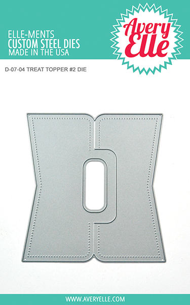 *NEW* - Avery Elle - Die: Treat Topper #2 Elle-ments