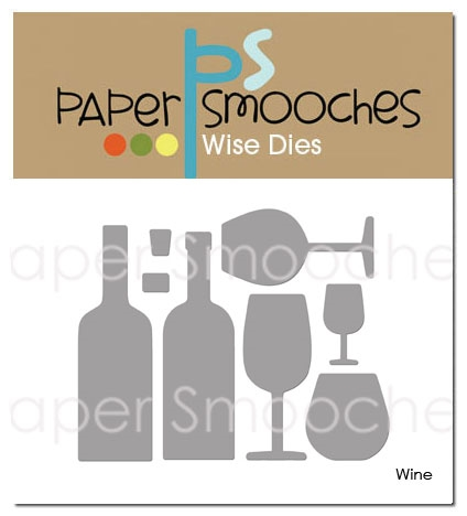 *NEW* - Paper Smooches - Wine Dies