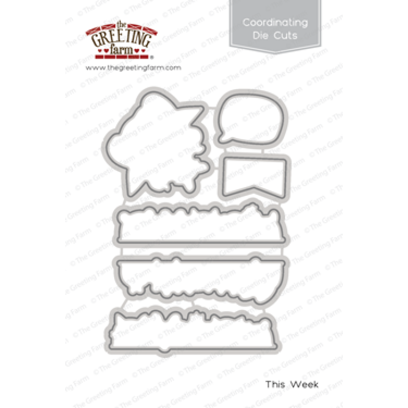 *NEW* -  The Greeting Farm - This Week - Die Cuts