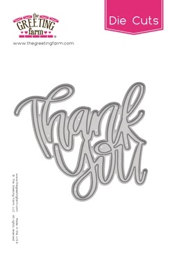 *NEW* -  The Greeting Farm - Thank You - Word Die Cut