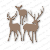Impression Obsession - Deer Trio