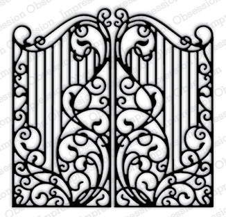 Impression Obsession- Wrought Iron Fence