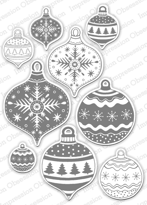Impression Obsession - Festive Ornaments