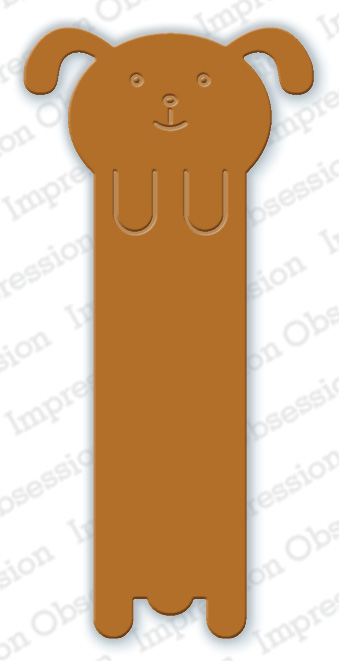 Impression Obsession - Dog Bookmark