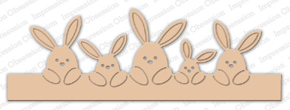 *NEW* - Impression Obsession - Bunny Border