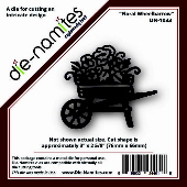 Die-namites - Floral Wheelbarrow