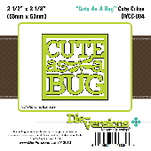 Die-versions - Cute Cubes - Cute As A Bug