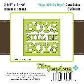 Die-versions - Cute Cubes - Boys Will Be Boys