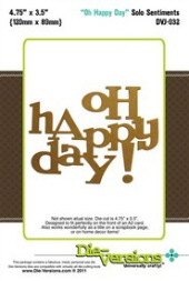 Die-Versions - Solo Sentiments - Oh Happy Day