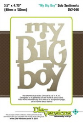 Die-Versions - Solo Sentiments - My Big Boy