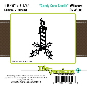 ###Die-versions - Whispers - Candy Cane Candle