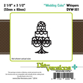 Die-Versions - Whispers - Wedding Cake