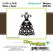 Die-Versions - Whispers - Wedding Dress