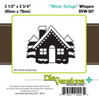 Die-Versions - Whispers - Winter Cottage