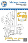 *SALE* Whimsy Stamps - Little Jack and Bushels Painting the Fence - Elisabeth Bell