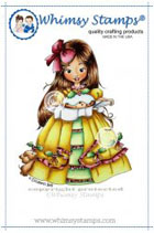 *SALE* Whimsy Stamps - Christmas Pudding - Elisabeth Bell