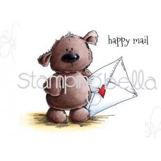 Stamping Bella - Harry the Stuffie has Happy Mail