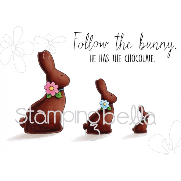 *NEW* - Stamping Bella - Chocolate bunnies