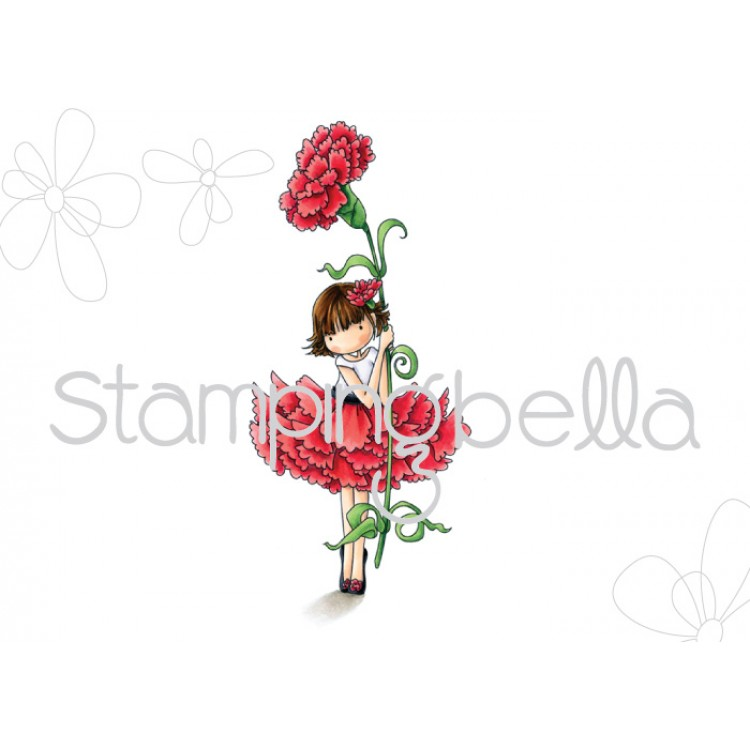 *NEW* - Stamping Bella - Tiny Townie Garden Girl Carnation