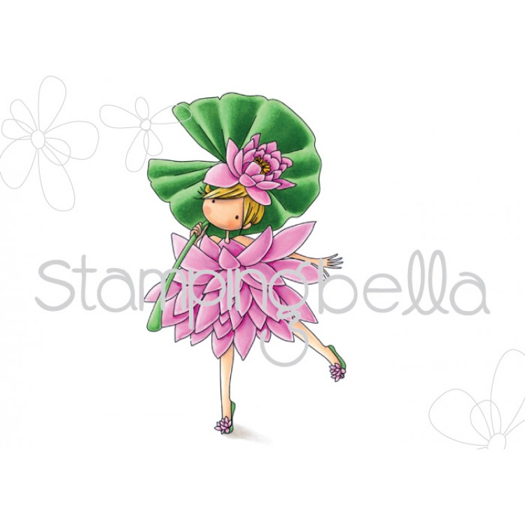 Stamping Bella - Tiny Townie Garden Girl Water Lily