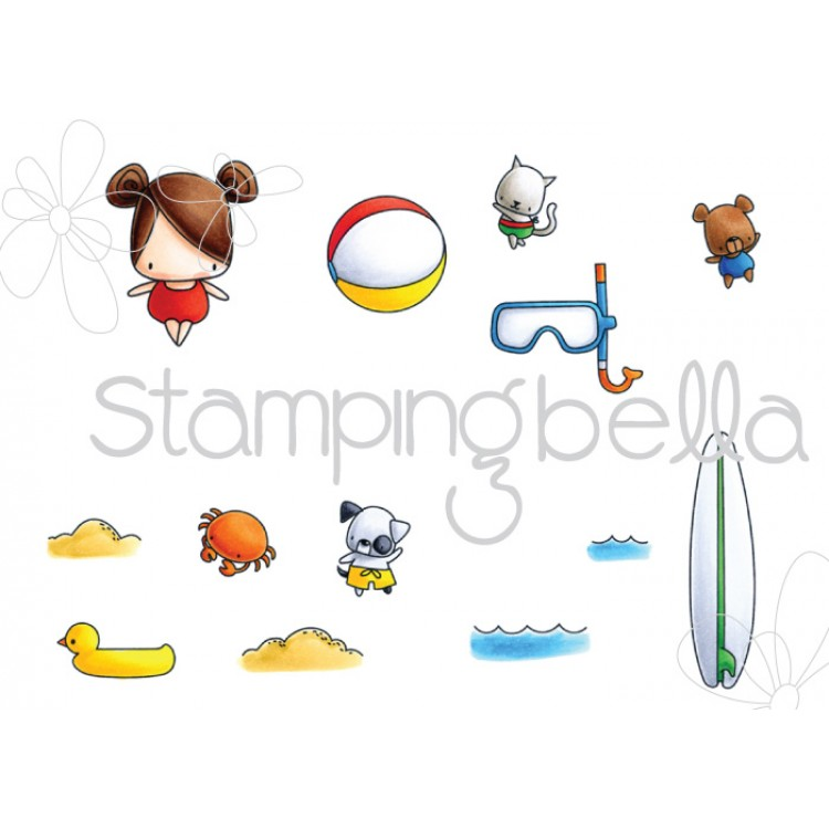 *NEW* - Stamping Bella - The Littles Snorkel set