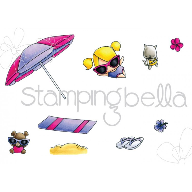*NEW* - Stamping Bella - The Littles Umbrella set