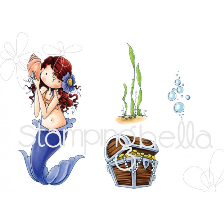 *NEW* - Stamping Bella - Tiny Townie Mermaid set
