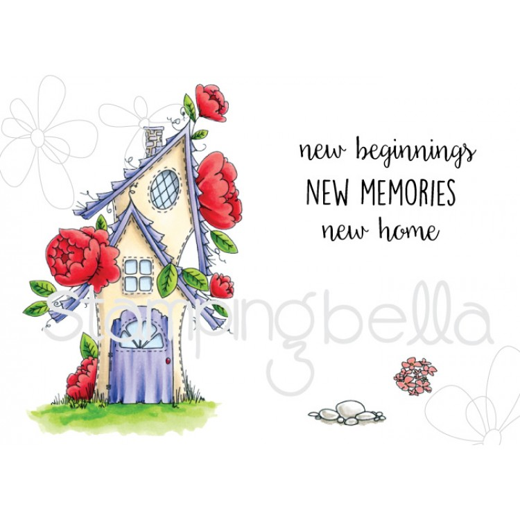 Stamping Bella - Tiny Townie fairy garden house