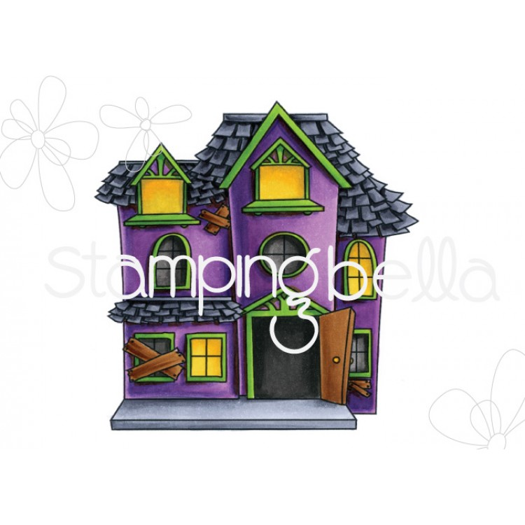 Stamping Bella - Little Bits, haunted house