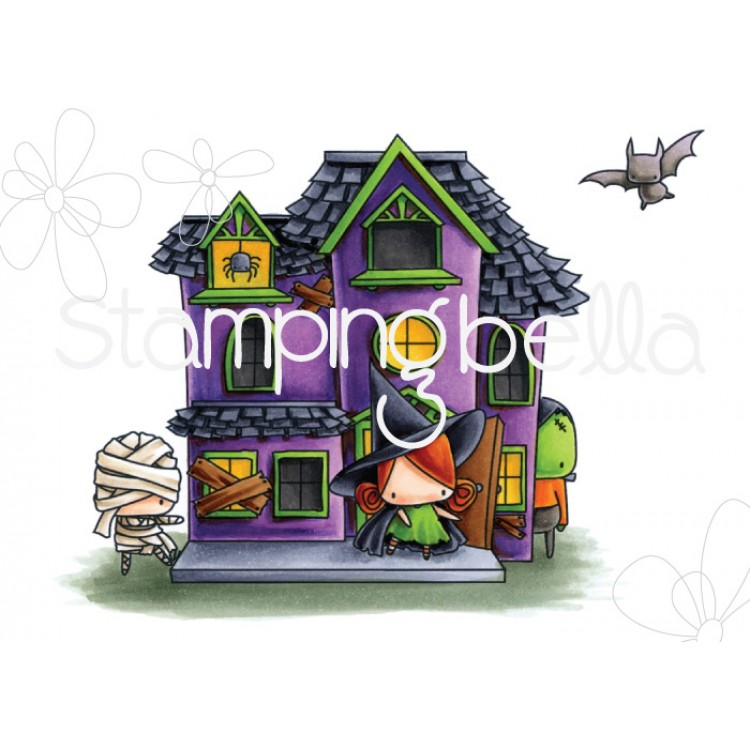 *NEW* - Stamping Bella - The Littles, haunted house (full scene)