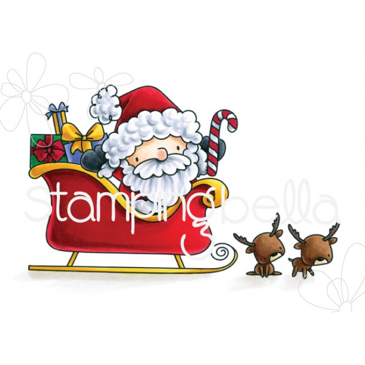 *PRE-ORDER* - Stamping Bella - The littles Christmas Collection SANTA and his REINDEER