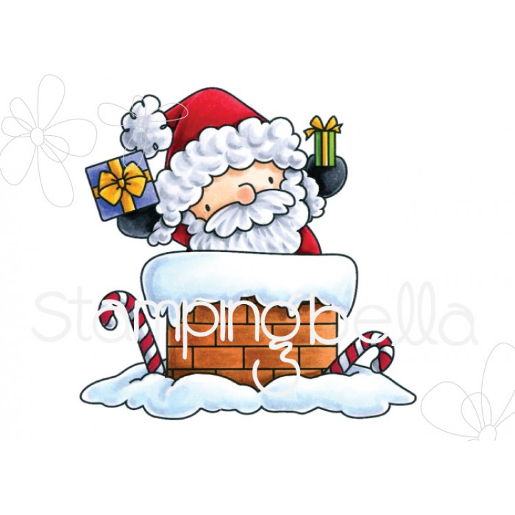 *PRE-ORDER* - Stamping Bella - the littles CHRISTMAS COLLECTION Santa has arrived