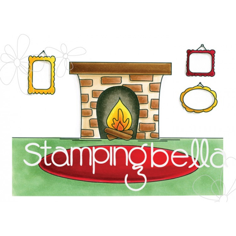 *PRE-ORDER* - Stamping Bella - fireplace backdrop