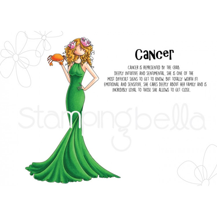 Stamping Bella - UPTOWN GIRL ZODIAC-CANCER