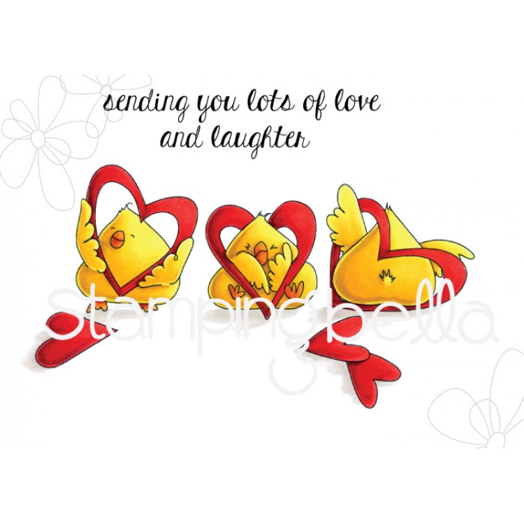 Stamping Bella - HEARTY CHICKS