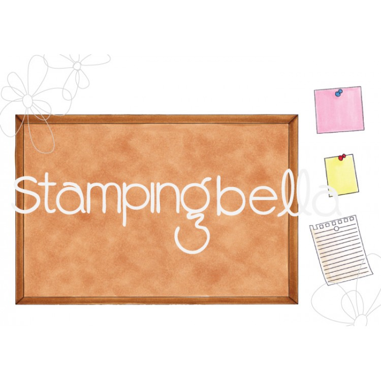 Stamping Bella - CORKBOARD BACKDROP
