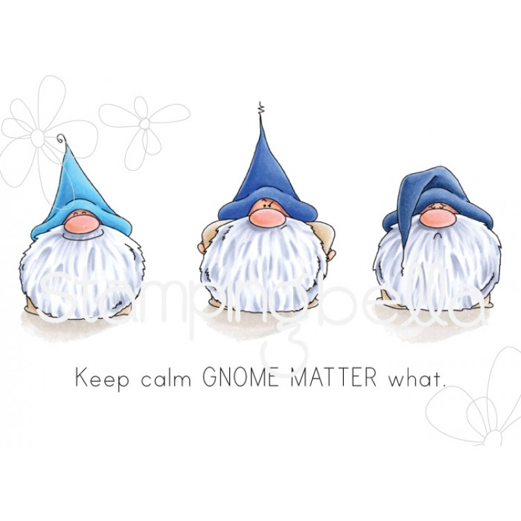 Stamping Bella - Gnomes have feelings too