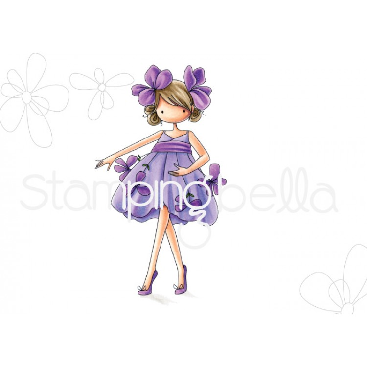 Stamping Bella - Tiny Townie garden girl Violet