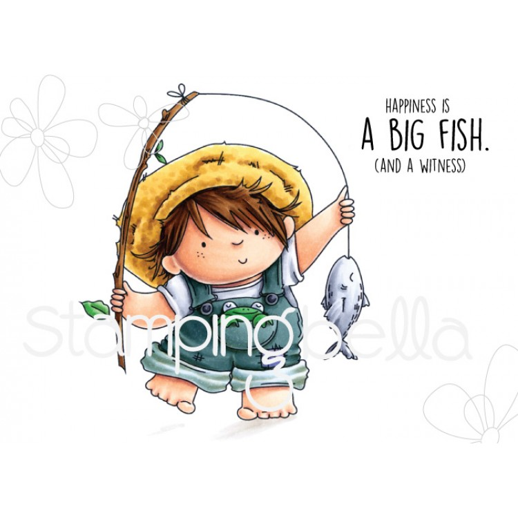 Stamping Bella - Fishing Squidgy