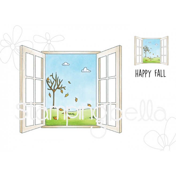 Stamping Bella - FALL WINDOW