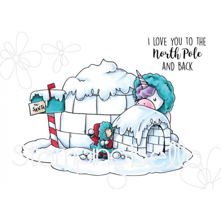 Stamping Bella - ROSE AND BERNIE IN THE NORTH POLE