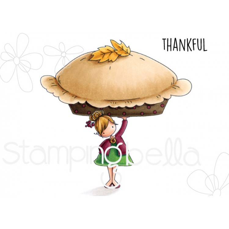 *NEW* - Stamping Bella - TEENY TINY TOWNIE WITH A PUMPKIN PIE