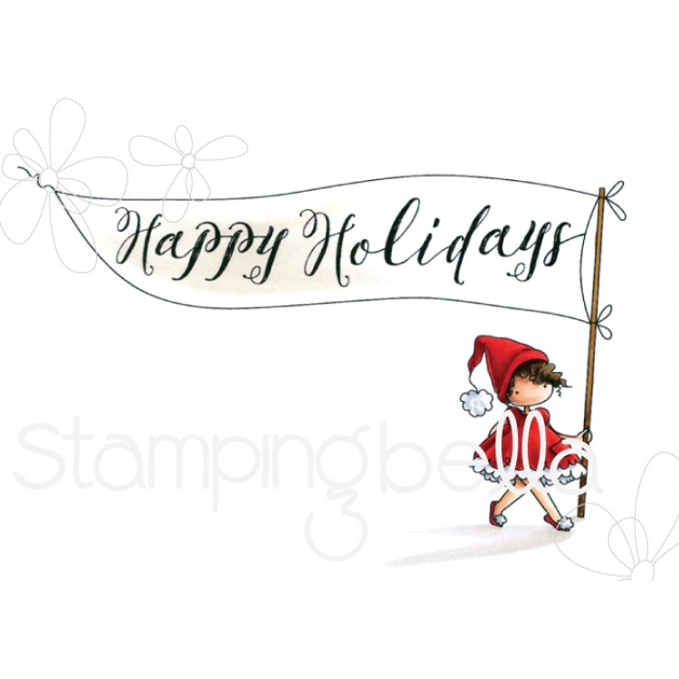 Stamping Bella - HAPPY HOLIDAYS TEENY TINY TOWNIE