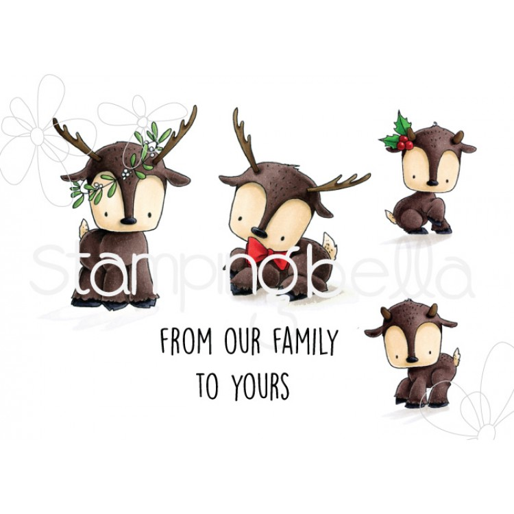 *NEW* - Stamping Bella - REINDEER FAMILY