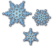 *XMAS* Elizabeth Craft Designs - Snowflakes