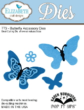 Elizabeth Craft Designs - Butterfly Accesory Dies