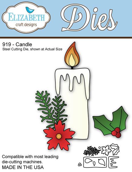 Elizabeth Craft Designs Candle Elizabeth Craft Designs Dies To